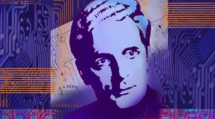 graphic of moog's face
