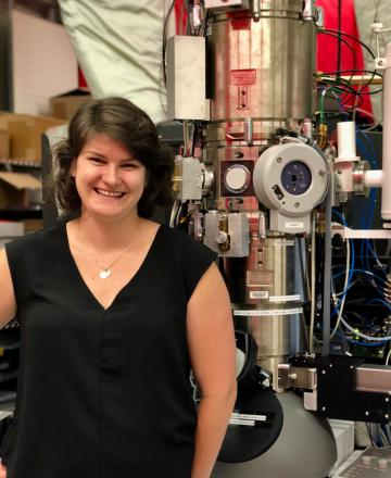 Berit Goodge in her lab